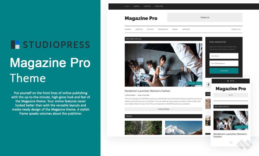 StudioPress Magazine Pro Theme Review